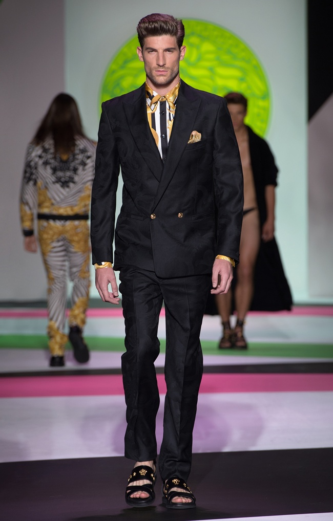 4 VERSACE Men's SS2014_Look 5