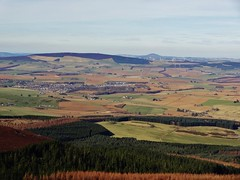 Looking towards Insch from Bennachie