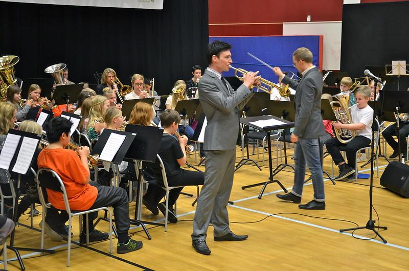 Paul Duffy och Framåt Brassorkestern