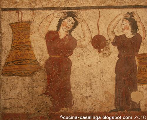 Paestum Grabplatte 2