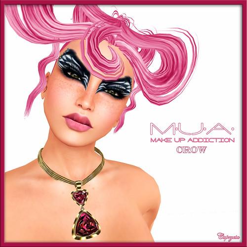 MUA - Crow by Caprycia ♕VeraWangMF2014♕
