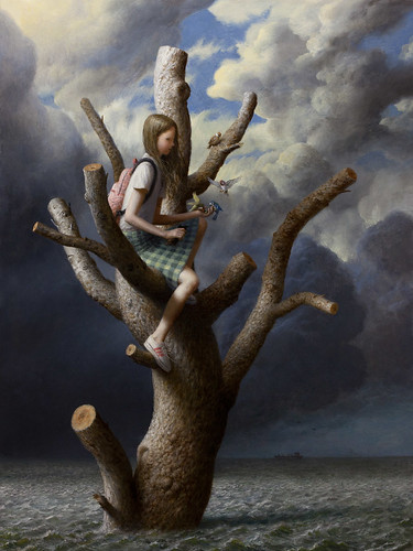 """The Tree"" limited edition print by Aron Wiesenfeld"