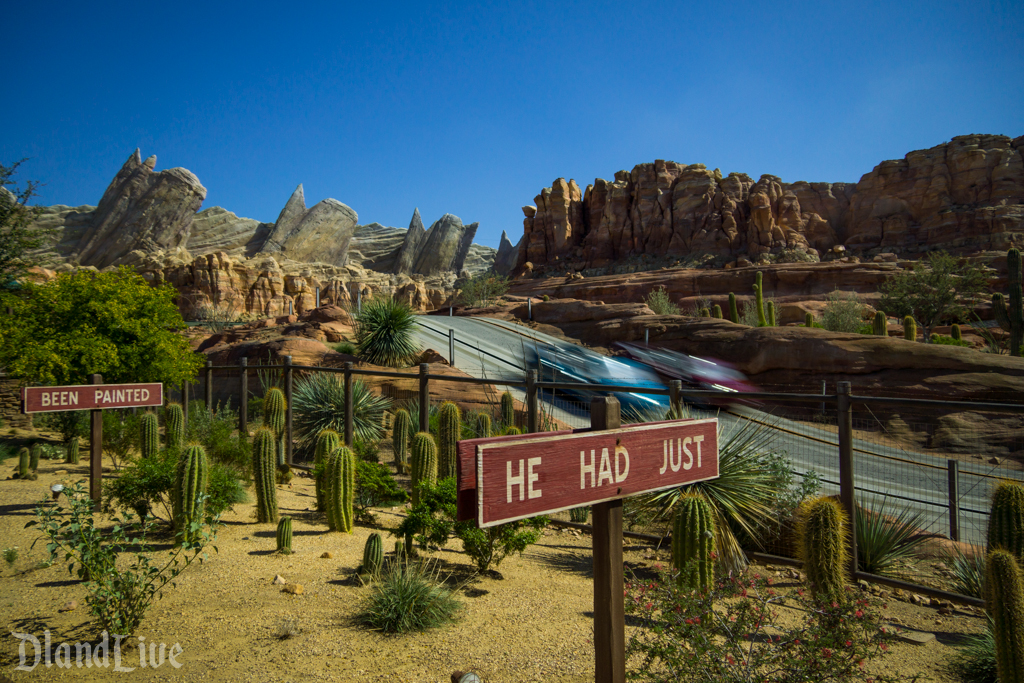 Radiator Springs Racers - Cars Land