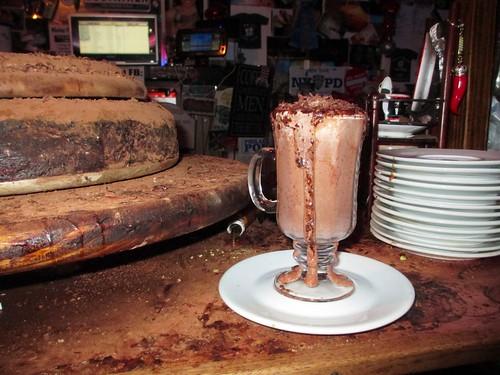 Hot Chocolate Volcano at Rim Cafe, Philadelphia