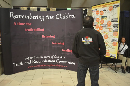 Truth and Reconciliation Event in Edmonton