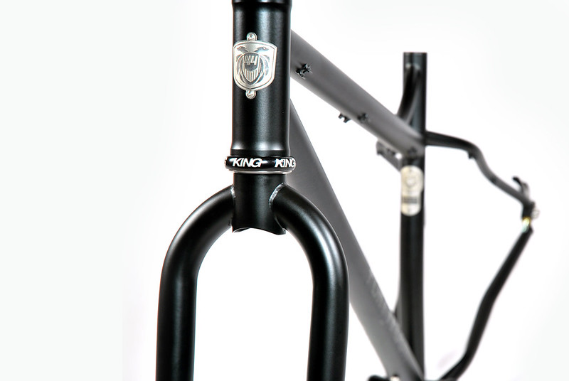 Jon's 29+ : Head Tube Detail
