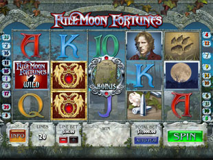 Full Moon Fortunes Slot Machine