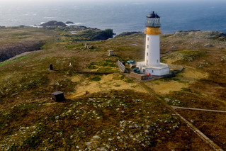 Sule Skerry Lighthouse, 37 miles west of Orkney