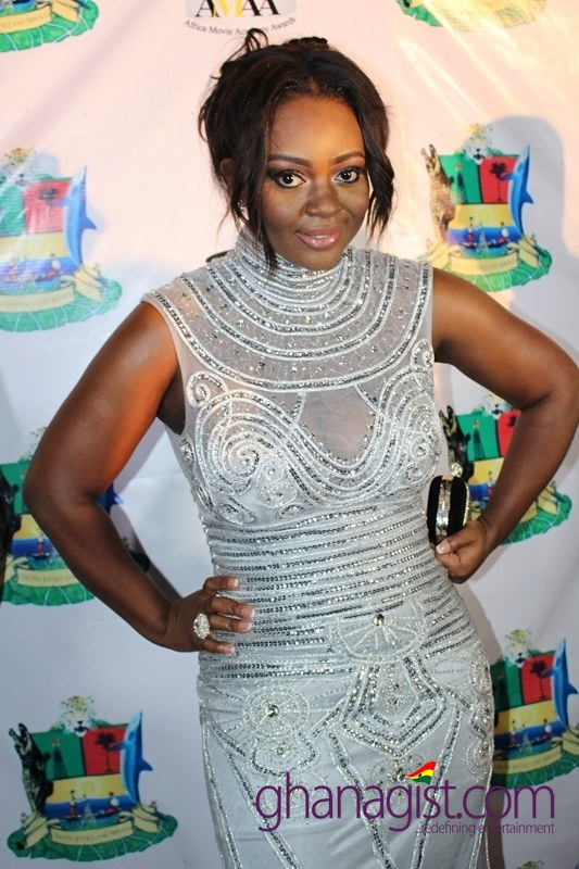 Jackie Appiah at Africa Movie Academy Awards 2014