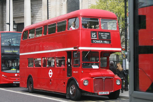 Sullivan RML2272 on Route 15H, St Paul's (9H/15H Running Day)