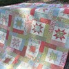 :notes:you must be my Lucky Star:notes: this is my moms quilt that @paigealaine Quilted for us #atkinsondesigns #SewModDesigns