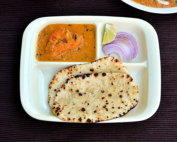 how to make naan recipe without yeast