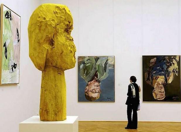 Protesta Baselitz y retira obras de museos en Alemania