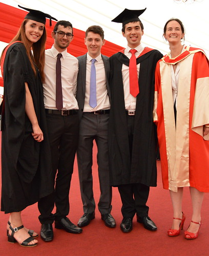 Left to right: Laura Barnford Anthony Hill Sam Riches Ed Cross Deidre Toher