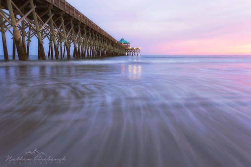 sunset beach follybeach southcarolina pastel canon6d