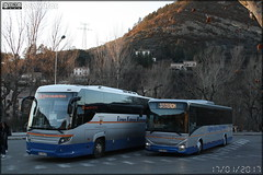 Scania Touring - Transdev Sud-Est Mobilités / Lignes Express Régionales Provence-Alpes-Côte-d'Azur & Iveco Bus Crossway - Payan / Lignes Express Régionales Provence-Alpes-Côte-d'Azur - Photo of Thoard