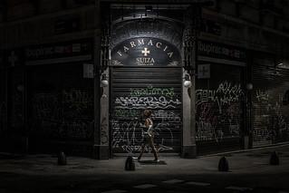 Buenos Aires after dark