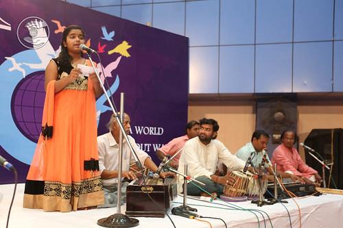 Devotional song by Pratiksha and Saathi from Bhadrak, Odisha