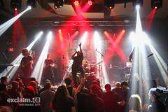 Fallujah at Barrymore's, Ottawa ON, 2017 03 18