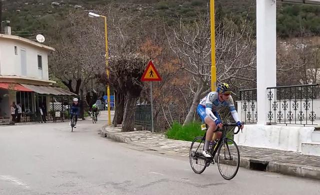 Διεθνής Ποδηλατικός Γύρος Ρόδου 2017 - Το πέρασμα των ποδηλατών από την Ψίνθο