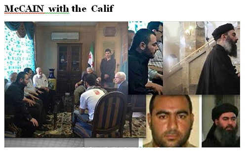 McCAIN  with the  Calif