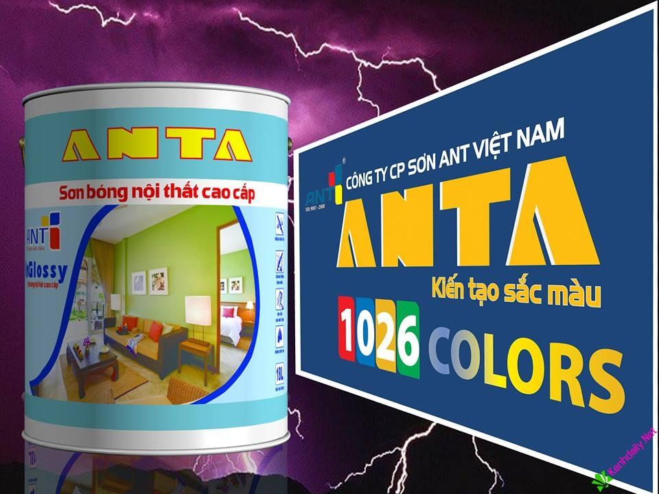 Công ty CP sơn ANT tìm nhà phân phối hãng sơn ANTA