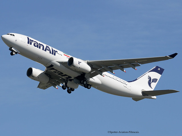 Iran Air. Second Airbus A330 For The Company.