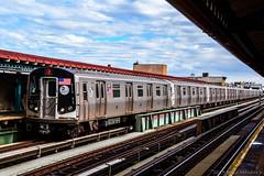 MTA New York City Subway Alstom R160A-2 #8707