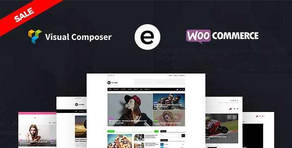 Exemag WordPress Theme free download