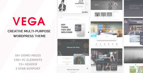 Vega WordPress Theme free download