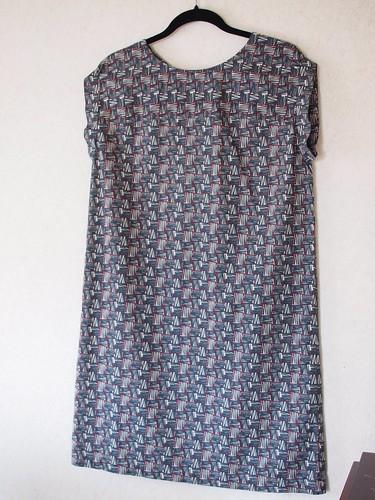 Front back dress