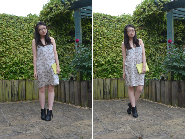 Daisybutter - UK Style and Fashion Blog: what i wore, prints, topshop SS13, whistles, chelsea boots, how to wear prints, ootd, british fashion blogger