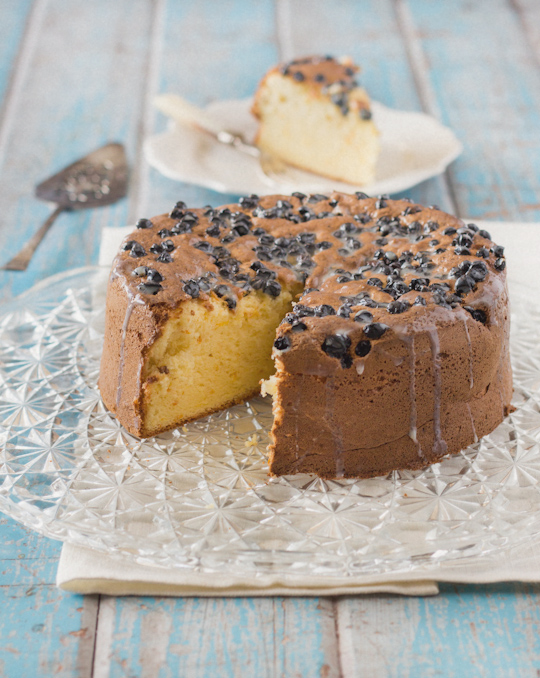 Orange Tea Cake with Earl Grey Glaze