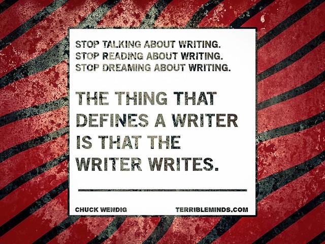 The Writer Writes