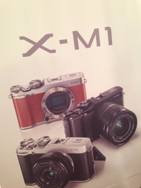 Lancio fujifilm x m1 la nuova macchina fotografica for Macchina fotografica compatta