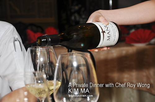 private dinner with Chef Roy Wong at Kim Ma 1