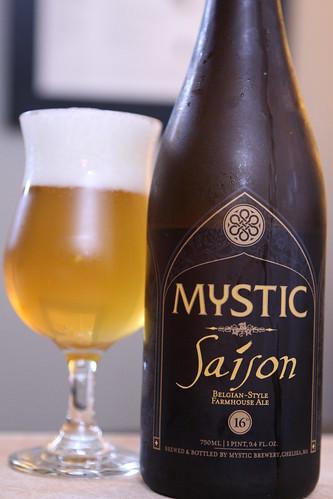 Mystic Brewery Saison
