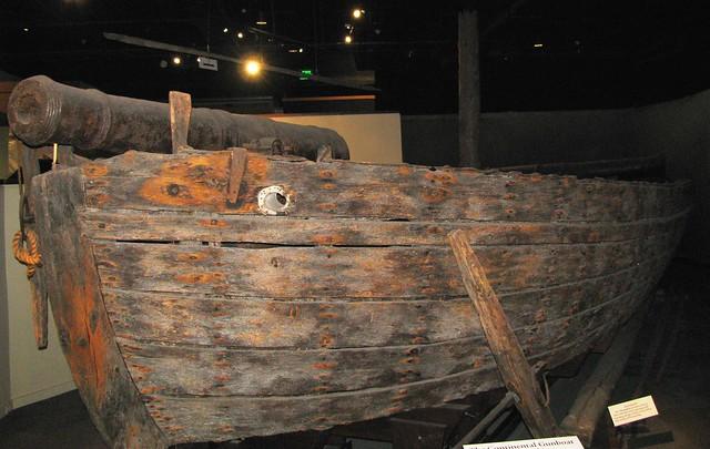 NMAH043 - American War of Independence - American - Continental Gunboat 'Philadelphia' - 12 Pounder Bow Gun - 1776