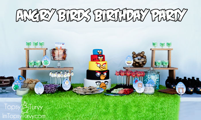 Angry birds birthday party ashlee marie real fun with real food angry birds birthday party filmwisefo Choice Image