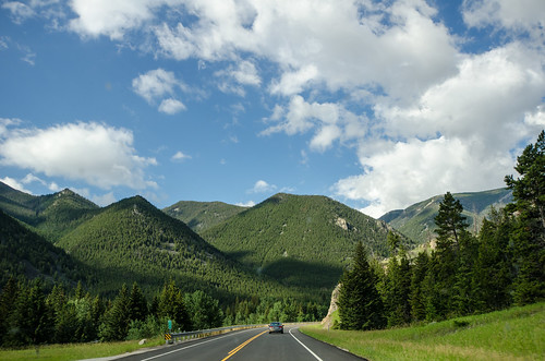 Driving the Beartooth Highway
