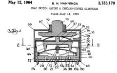 United States Patent US3133170 (1964)