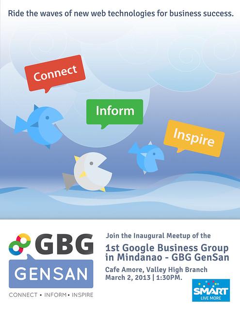 GBG GenSan Meetup Launch Poster
