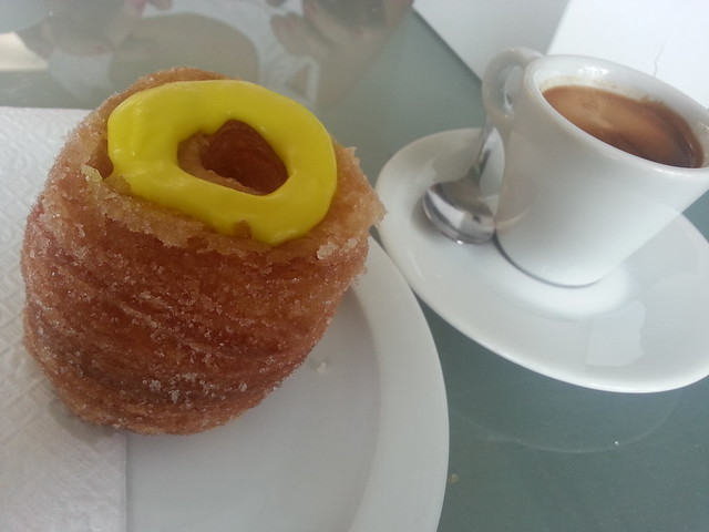 Cronetto and Espresso - La Cornetteria