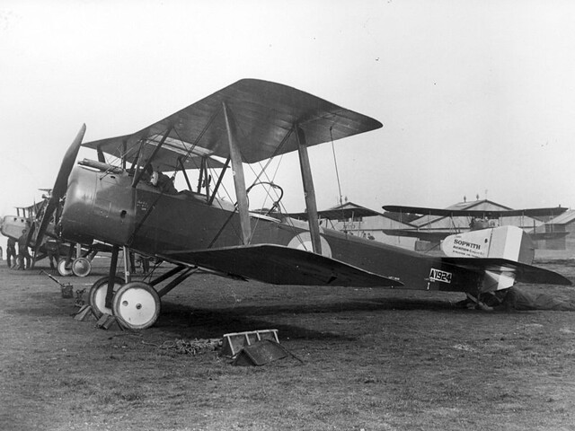 8. A Sopwith 1½ Strutter