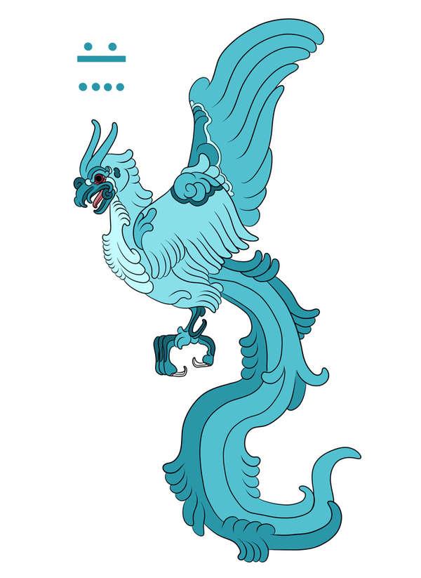 Personajes de Pokémon al estilo Maya precolombino