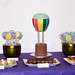 hot air balloon cake and desserts