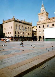 Bologna - Piazza Maggiore - Basilica di San Petronio