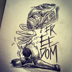 Hungry Hate Fear Pain Dor Draw Drawing Sketch Fel Flickr