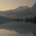 Smoky Silver Lake Sunrise by Robin Black Photography