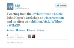 White House-ABF Tweets